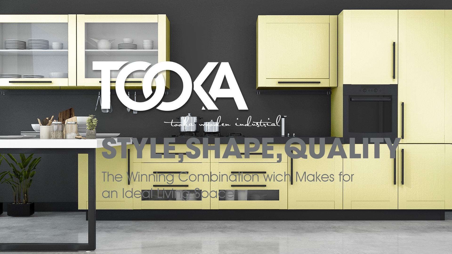tooka wooden industrial logo design portfolio by vazirstudio.com