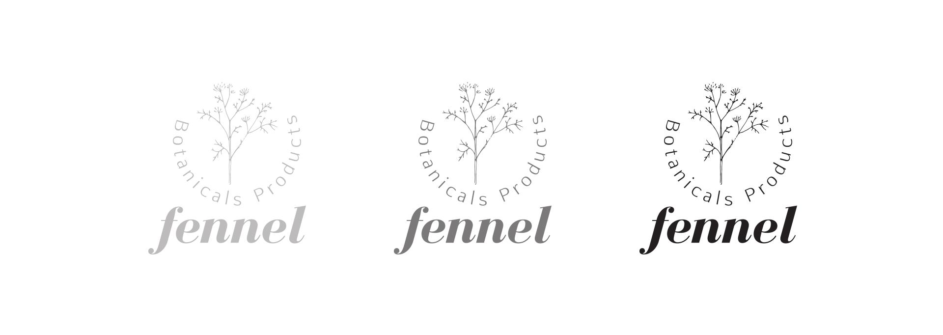 Fennel logo design by vazirstudio.com