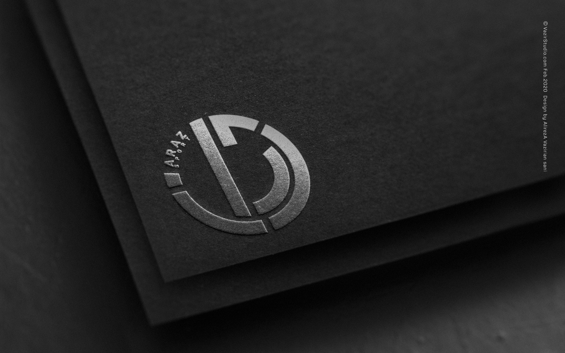 Araz sport logo design portfolio by vazirstudio.com Feb 2020