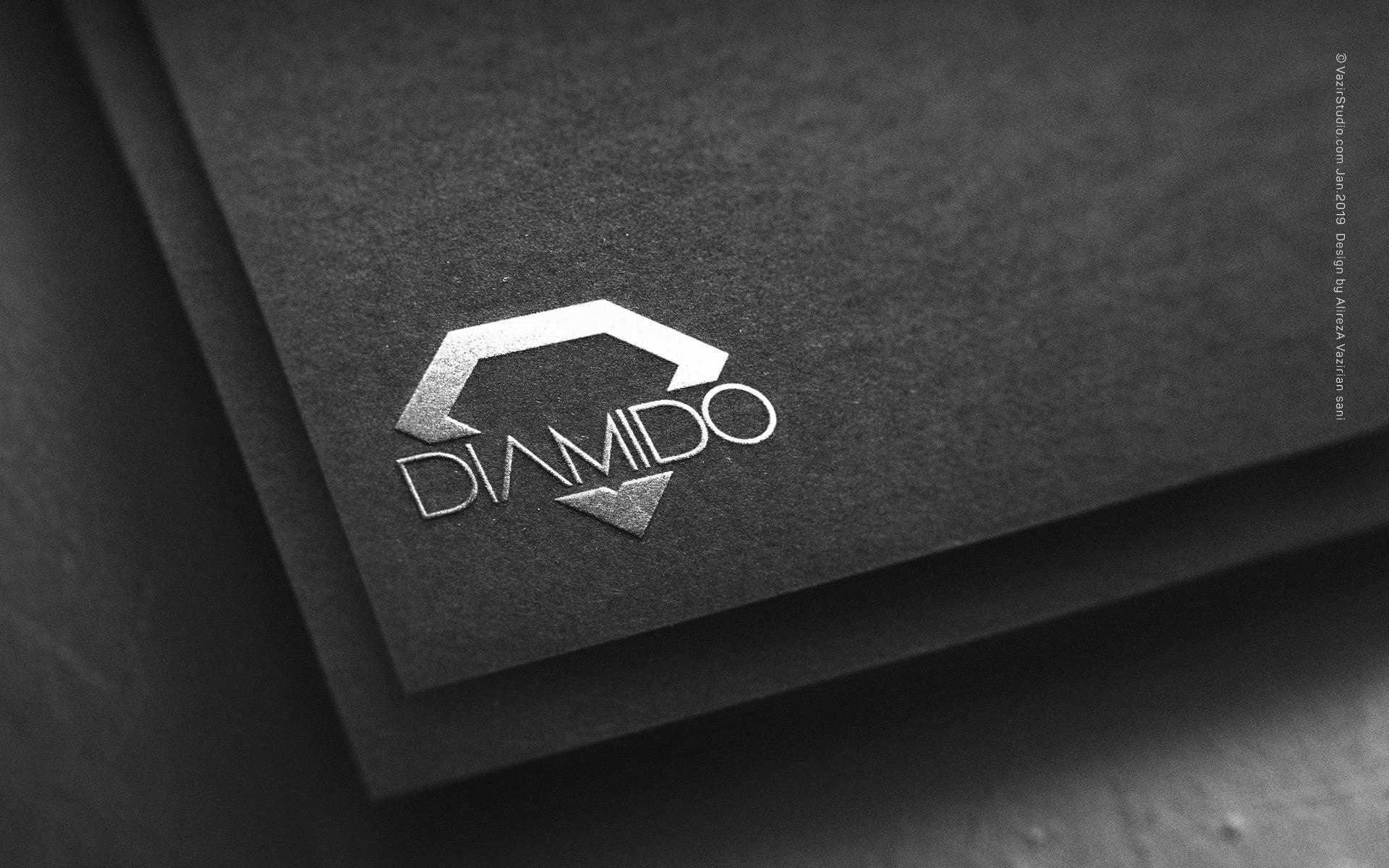 diamido logo design portfolio by vazirstudio.com